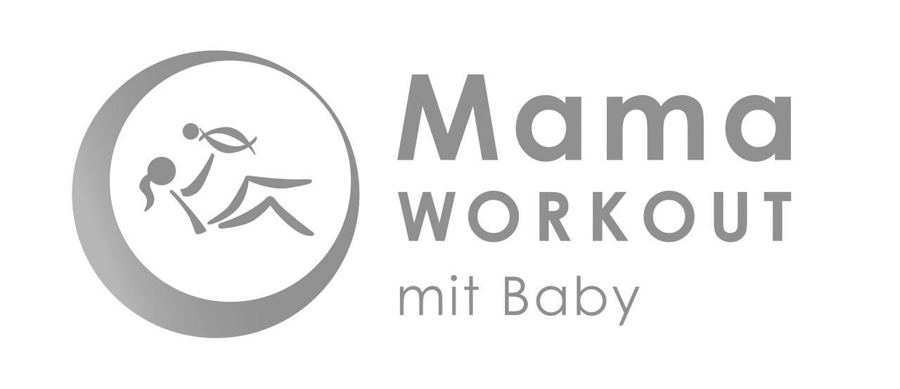 Fitness-Gymnastik mit Baby