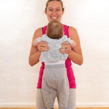 Fitnessgymnastik mit Baby in Karlsruhe