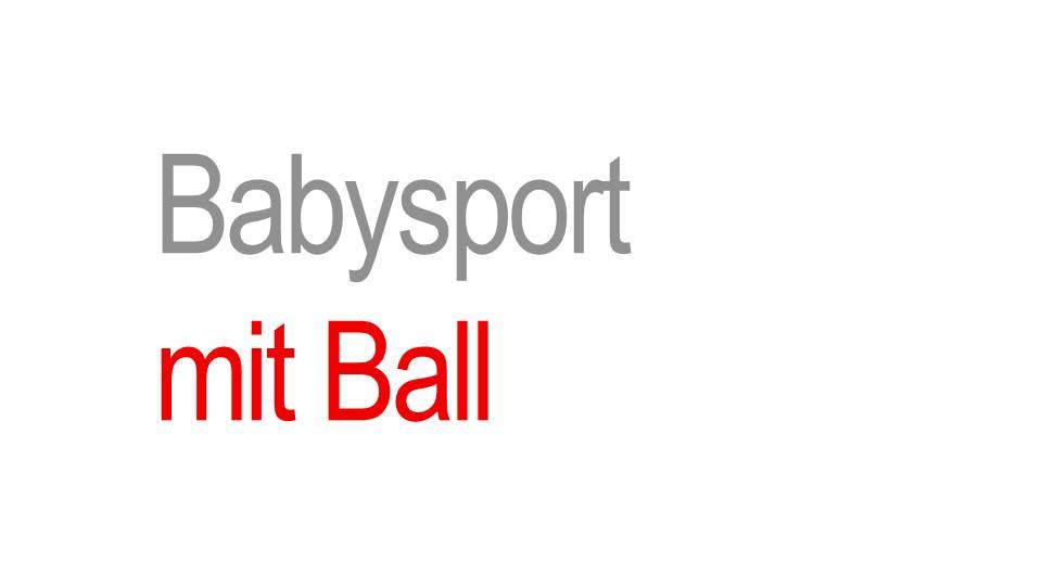 Sport für 1-2Jährige